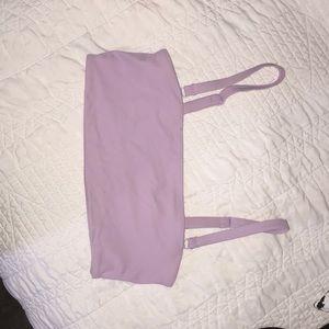 Purple pacsun bandeau bikini top!